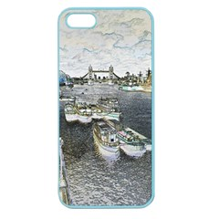 River Thames Art Apple Seamless iPhone 5 Case (Color)