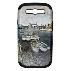 River Thames Art Samsung Galaxy S Iii Hardshell Case (pc+silicone)