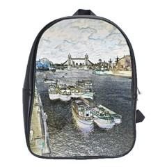 River Thames Art School Bag (XL)