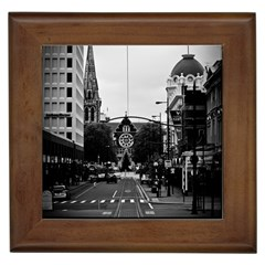 Christchurch Tree Framed Ceramic Tile