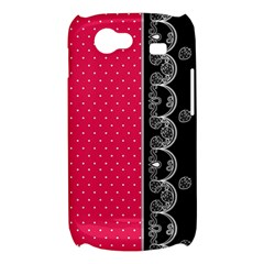 Lace Dots With Black Pink Samsung Galaxy Nexus S i9020 Hardshell Case