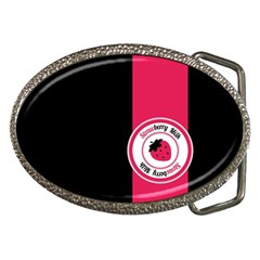 Brand Ribbon Pink With Black Belt Buckle