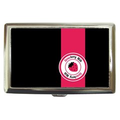 Brand Ribbon Pink With Black Cigarette Money Case