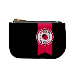 Brand Ribbon Pink With Black Mini Coin Purse
