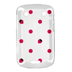 Strawberry Dots Pink BlackBerry Bold Touch 9900 9930 Hardshell Case