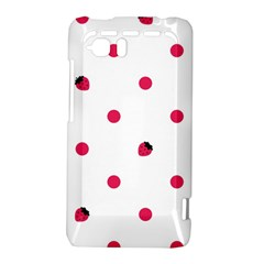 Strawberry Dots Pink HTC Vivid / Raider 4G Hardshell Case