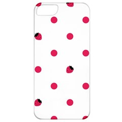 Strawberry Dots Pink Apple iPhone 5 Classic Hardshell Case