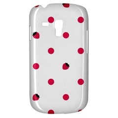 Strawberry Dots Pink Samsung Galaxy S3 Mini I8190 Hardshell Case