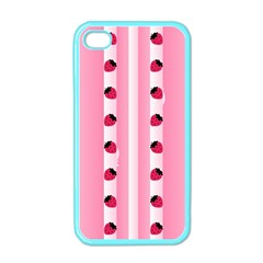 Strawberry Cream Cake Apple iPhone 4 Case (Color)