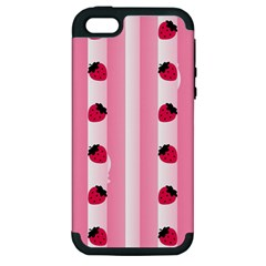 Strawberry Cream Cake Apple iPhone 5 Hardshell Case (PC+Silicone)
