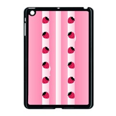 Strawberry Cream Cake Apple Ipad Mini Case (black)