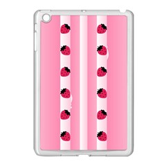Strawberry Cream Cake Apple iPad Mini Case (White)
