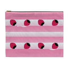 Strawberry Cream Cake Cosmetic Bag (xl)