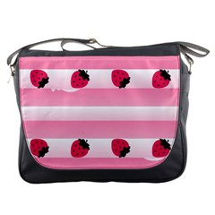 Strawberry Cream Cake Messenger Bag