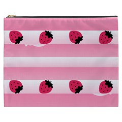 Strawberry Cream Cake Cosmetic Bag (xxxl)