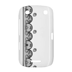 Lace White Dots White With Black BlackBerry Curve 9380 Hardshell Case