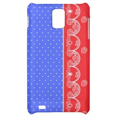 Lace Dots With Rose Purple Samsung Infuse 4G Hardshell Case