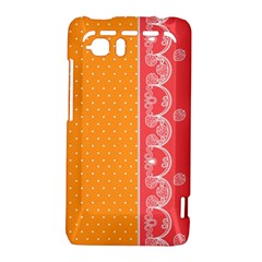 Lace Dots With Rose Gold HTC Vivid / Raider 4G Hardshell Case