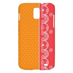 Lace Dots With Rose Gold Samsung Galaxy S II Skyrocket Hardshell Case