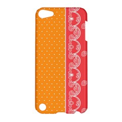 Lace Dots With Rose Gold Apple iPod Touch 5 Hardshell Case