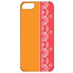 Lace Dots With Rose Gold Apple iPhone 5 Classic Hardshell Case