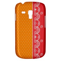 Lace Dots With Rose Gold Samsung Galaxy S3 Mini I8190 Hardshell Case