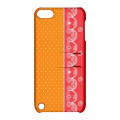 Lace Dots With Rose Gold Apple iPod Touch 5 Hardshell Case with Stand