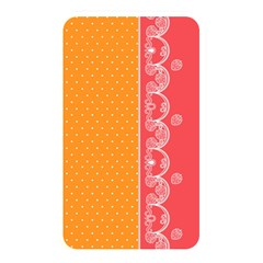 Lace Dots With Rose Gold Memory Card Reader (Rectangular)