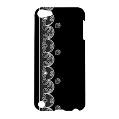 Strawberry Lace Black With White Apple iPod Touch 5 Hardshell Case