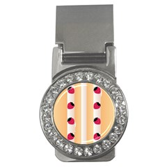 Origin Strawberry Cream Cake Money Clip (CZ)