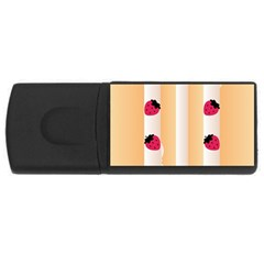 Origin Strawberry Cream Cake USB Flash Drive Rectangular (2 GB)