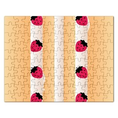 Origin Strawberry Cream Cake Jigsaw Puzzle (rectangular)