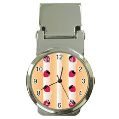 Origin Strawberry Cream Cake Money Clip Watch