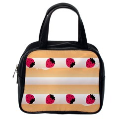 Origin Strawberry Cream Cake Classic Handbag (one Side)