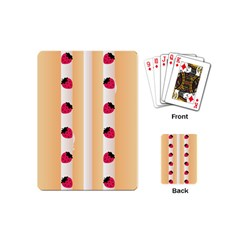 Origin Strawberry Cream Cake Playing Cards (Mini)