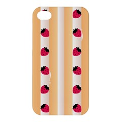 Origin Strawberry Cream Cake Apple Iphone 4/4s Premium Hardshell Case
