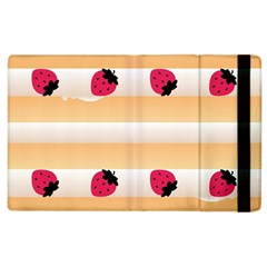 Origin Strawberry Cream Cake Apple iPad 2 Flip Case