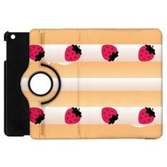Origin Strawberry Cream Cake Apple Ipad Mini Flip 360 Case