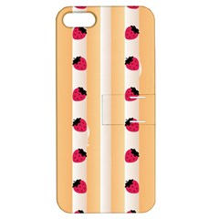 Origin Strawberry Cream Cake Apple iPhone 5 Hardshell Case with Stand