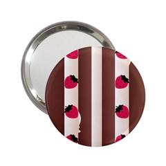 Choco Strawberry Cream Cake 2.25  Handbag Mirror