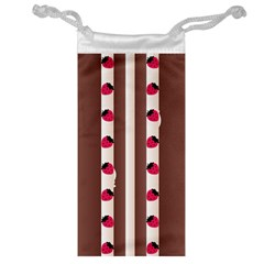Choco Strawberry Cream Cake Jewelry Bag