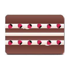 Choco Strawberry Cream Cake Small Doormat