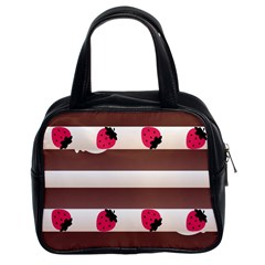 Choco Strawberry Cream Cake Classic Handbag (Two Sides)