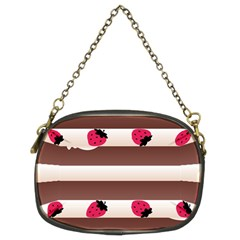 Choco Strawberry Cream Cake Chain Purse (Two Sides)