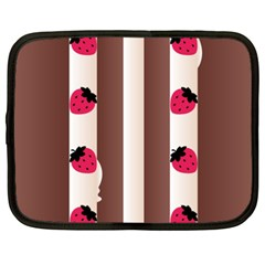 Choco Strawberry Cream Cake Netbook Case (XXL)