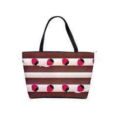 Choco Strawberry Cream Cake Classic Shoulder Handbag