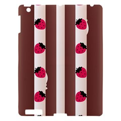Choco Strawberry Cream Cake Apple iPad 3/4 Hardshell Case