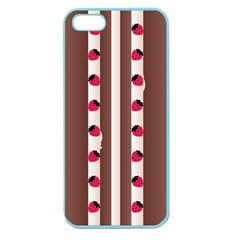 Choco Strawberry Cream Cake Apple Seamless iPhone 5 Case (Color)