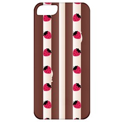 Choco Strawberry Cream Cake Apple iPhone 5 Classic Hardshell Case