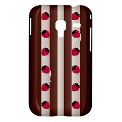 Choco Strawberry Cream Cake Samsung Galaxy Ace Plus S7500 Case